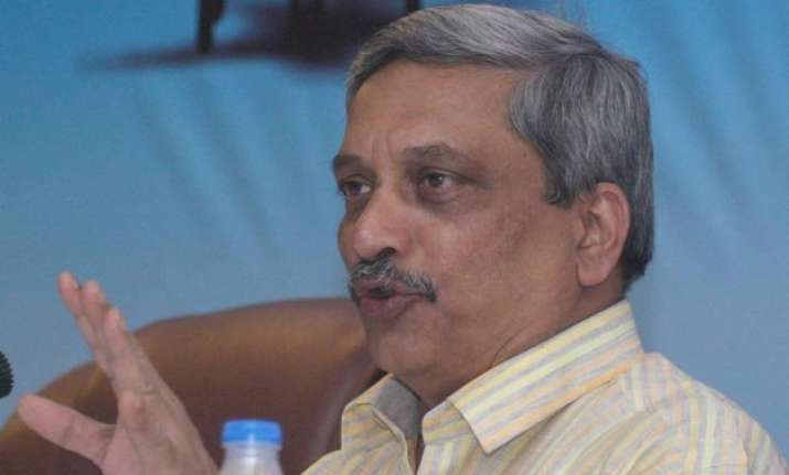 defence minister parrikar to attend floating out of first