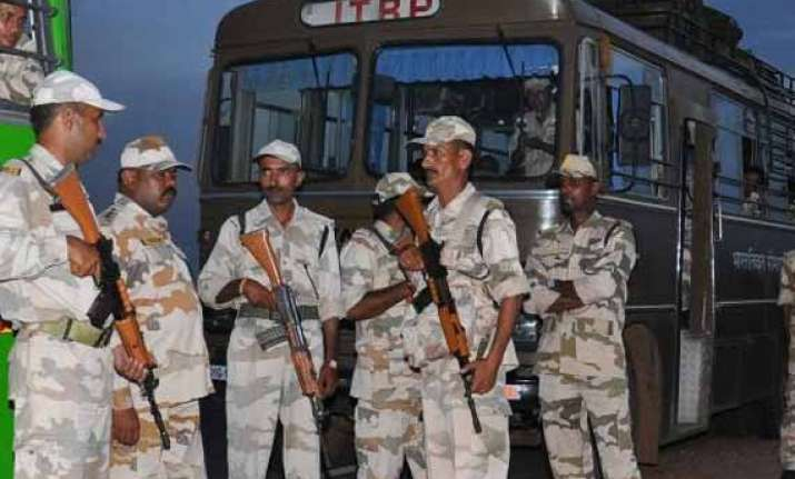 12000 itbp personnel to be deployed along sino india border