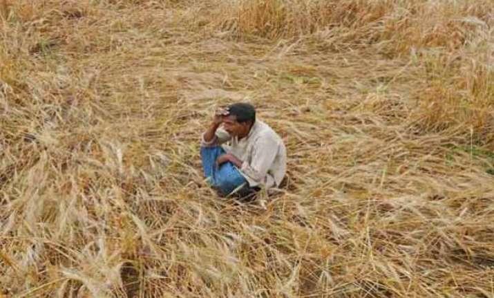 crop loss 2 farmers in aligarh die of shock over low yield