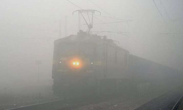 23 trains canceled 60 running late due to fog in delhi