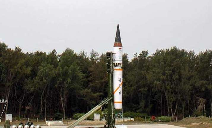 canister based agni v likely to be test fired on january 31
