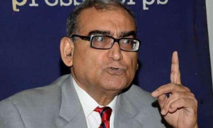 katju says mahatma gandhi was a british agent