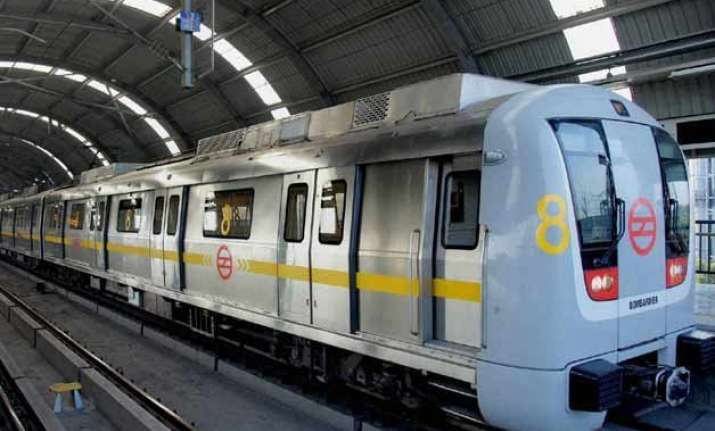 delhi metro ranked first in information during travel survey