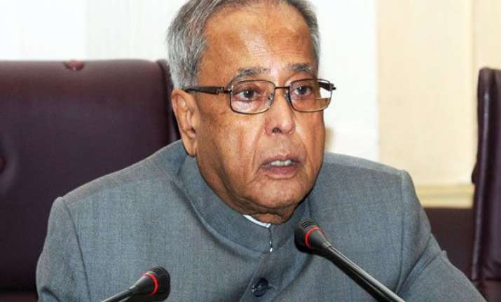 president pranab mukherjee greets people on easter