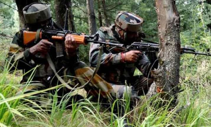 pakistan rangers fire on border out posts in jammu sector