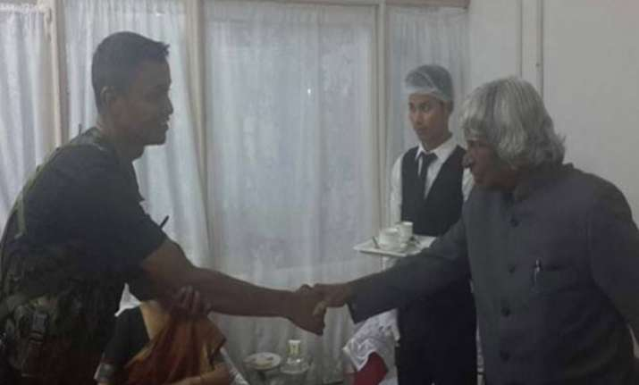 apj abdul kalam had thanked cop moments before he collapsed