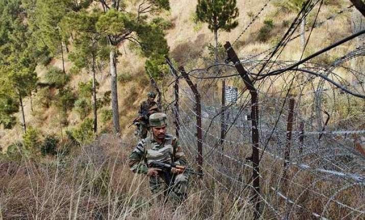 india pak border firing bsf jawan martyred 2 dead in