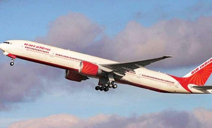 air india delhi bagdogra flight makes precautionary landing