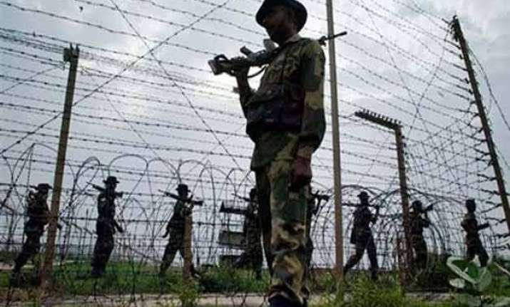 army officer killed in pak firing near loc in j k