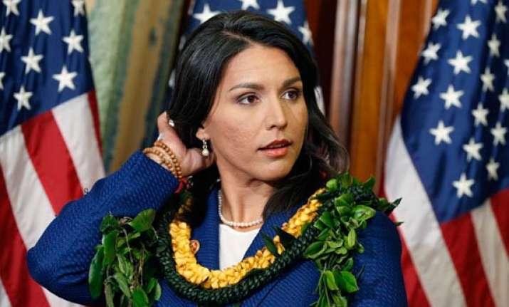 modi to meet tulsi gabbard first hindu american in us