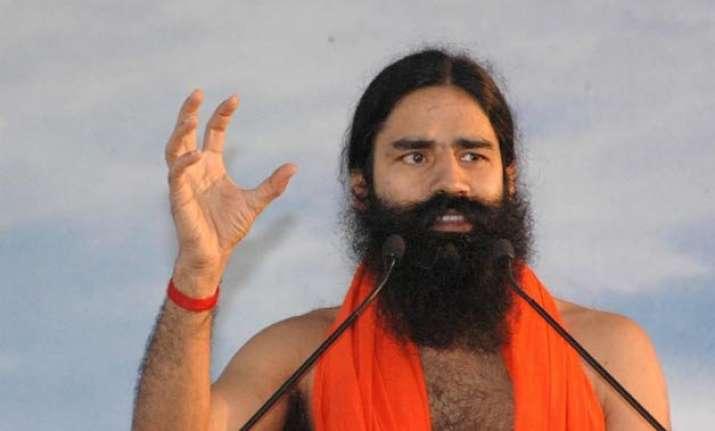 govt not spending money for promotion of vedas ramdev