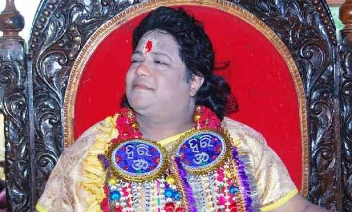 after radhe maa odisha s sarathi baba caught in scandal