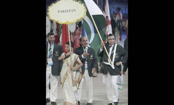 chef de mission can carry the flag pak cwg team manager