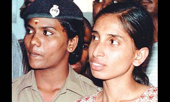 nalini shifted from vellore jail