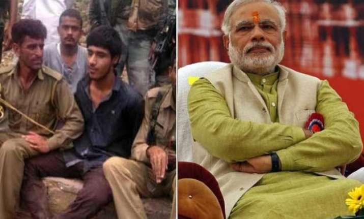pak disowns captured terrorist sonia attacks pm over naga