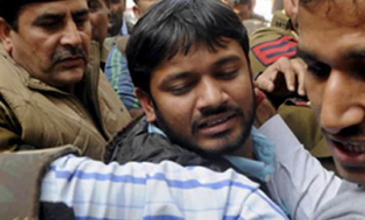 kanhaiya gets bail in sedition case to walk out of jail
