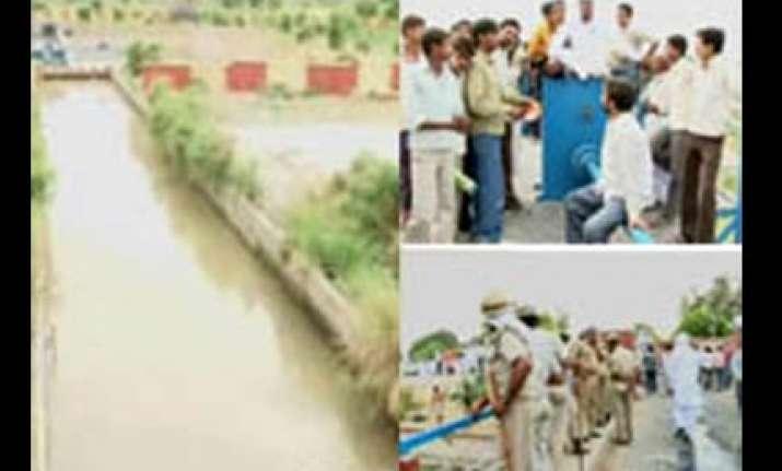 delhi water supply restored after jat protests end