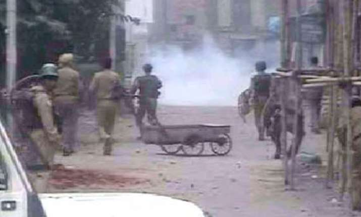 situation remains tense in kashmir valley