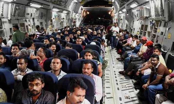 yemen crisis number of indian evacuees reach 4000 mark
