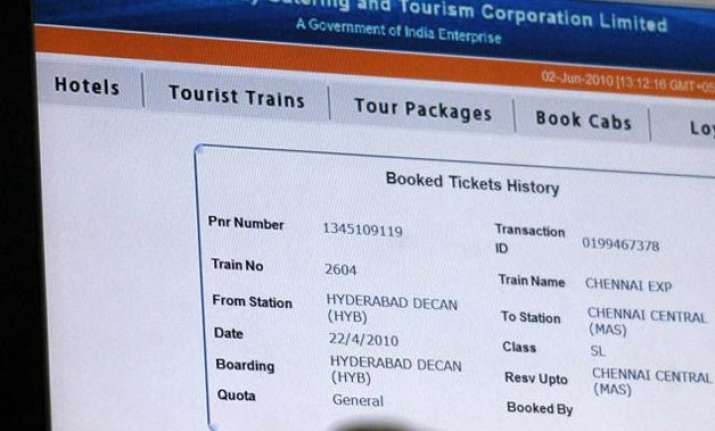 starting feb 15 only 6 online train tickets can be booked a