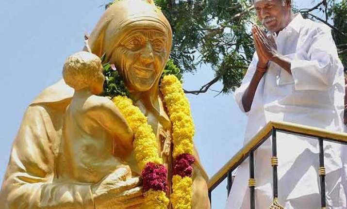 mother teresa s 105th birth anniversary observed