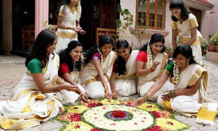 kerala celebrates onam with feast and festivities