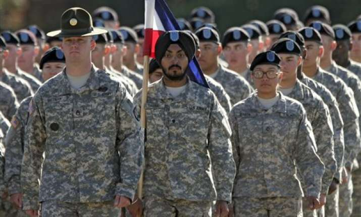 first sikh to become u.s. army soldier for nearly three