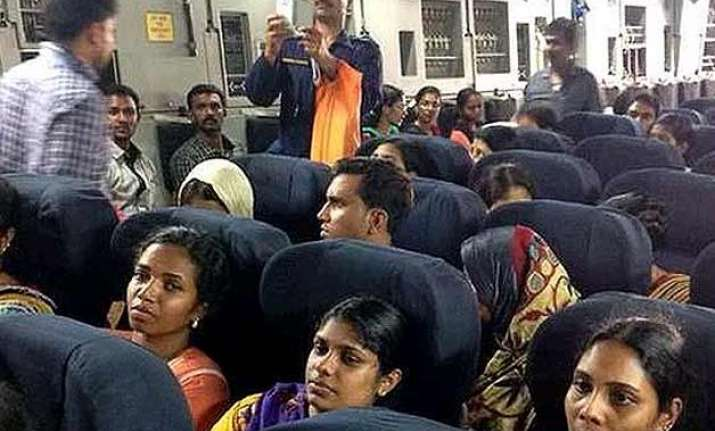 iaf brings home 168 indian nationals from war torn yemen