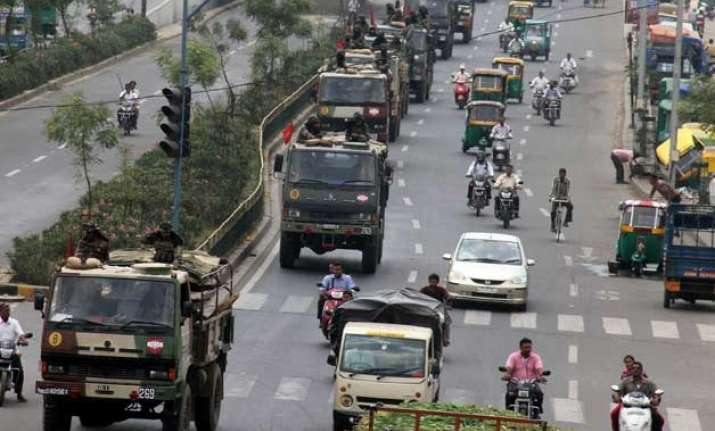 patel quota row gujarat limps to normalcy under army watch