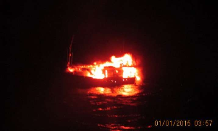 mysterious terror boat was in constant touch with the