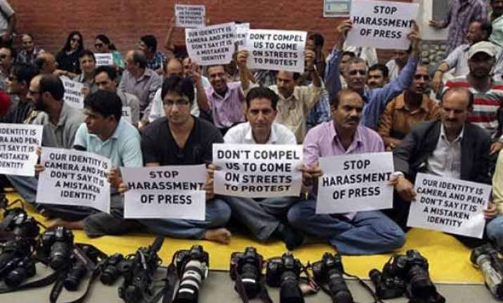 113 cases of attacks against journalists in 2014 govt