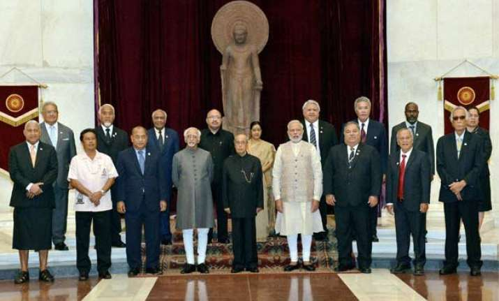 summit of india pacific island nations today in jaipur