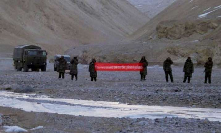 no chinese incursion into india s territory govt
