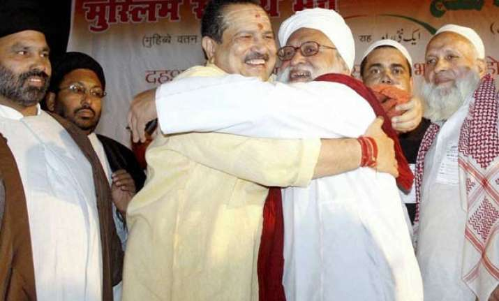 rss s ulema conference calls for terror riot free india