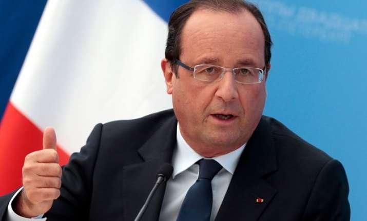 rafale jet deal on right track francois hollande