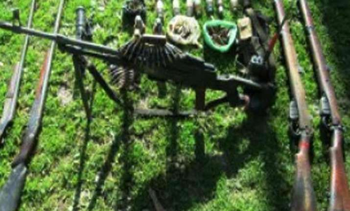 explosives seized from militant hideout in ramban