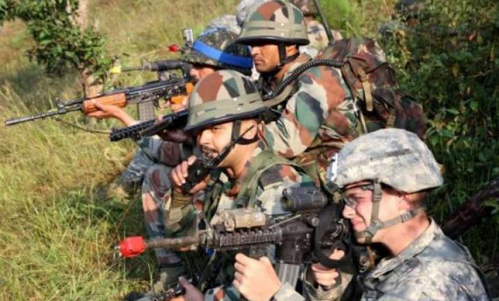 india us army s joint military drill in uttarakhand ends