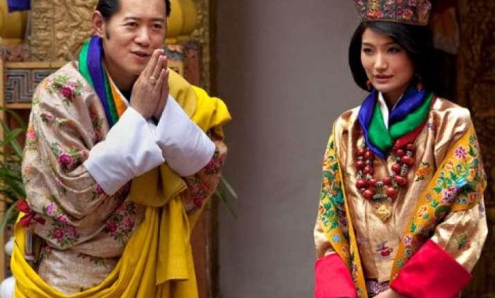 bhutan king jigme khesar namgyel wangchuck visits varanasi
