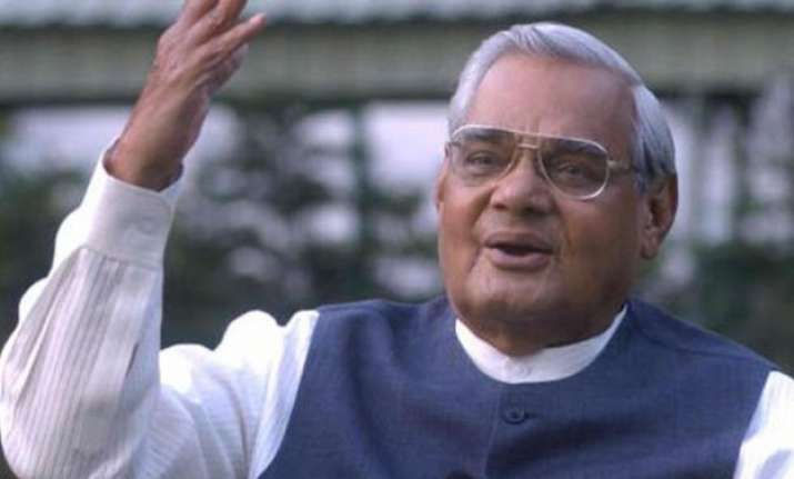 president could travel to vajpayee s residence to present