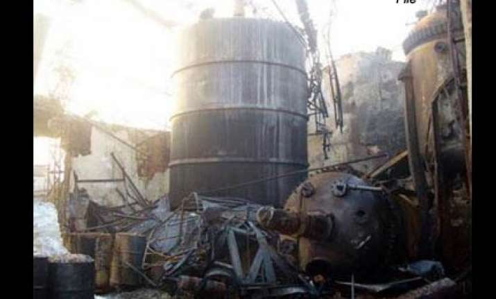 1 killed four missing in blast at ordnance factory
