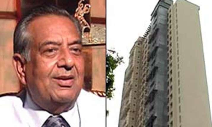 gen vij favours probe into adarsh housing society scam