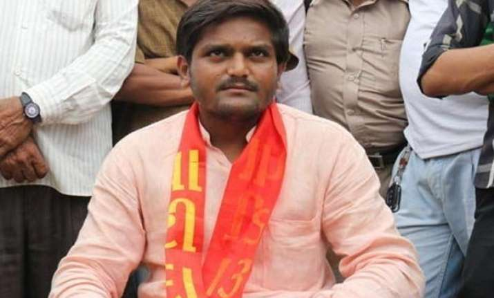 patel quota row hardik seeks rs 35 lakh compensation for
