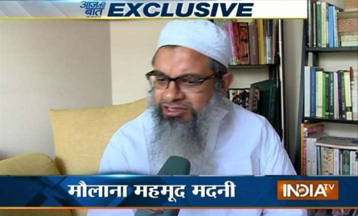aaj ki baat mahmood madani opposes demand for banning rss