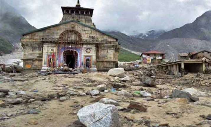 reconstruction work in kedarnath to be completed in 2 yrs