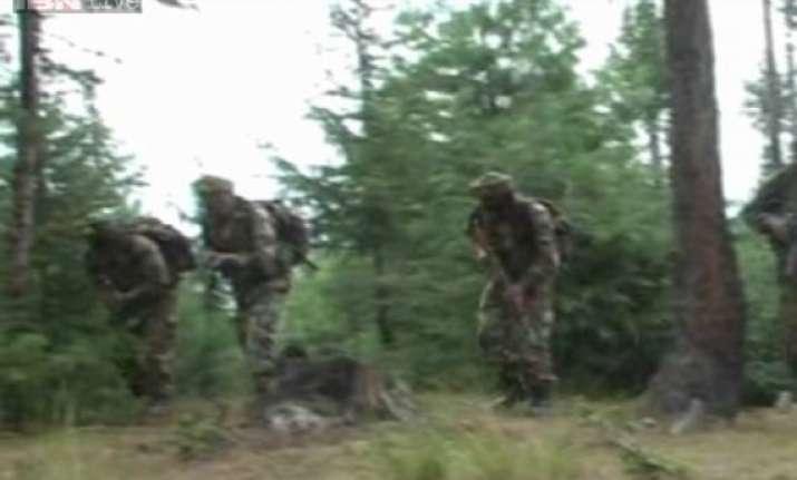 3 terrorists killed army foils infiltration bid along loc