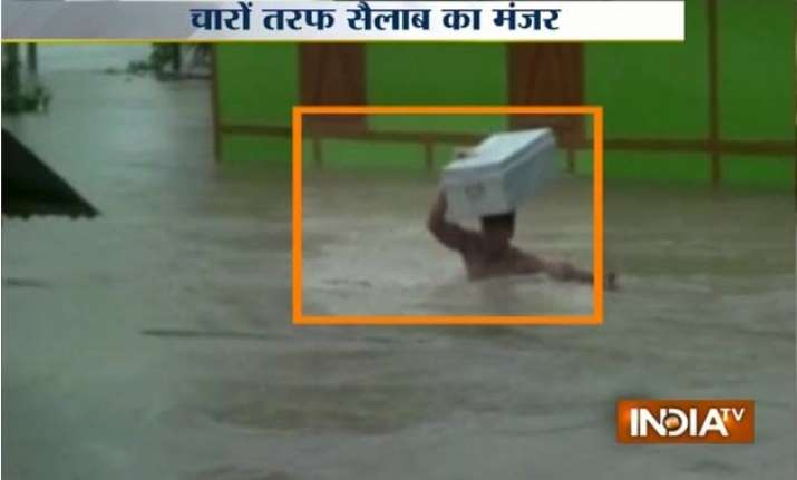 6 dead over 7 lakh people affected in assam flood