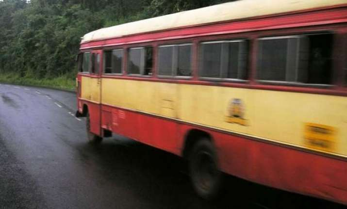 nine killed as bus catches fire in up