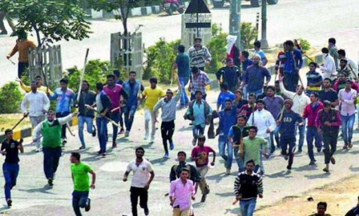 jat agitation haryana govt denies charges of women being