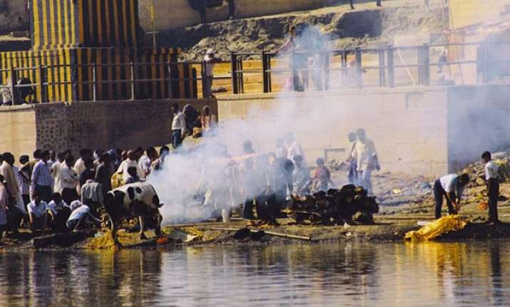what are the main sources of water pollution in india