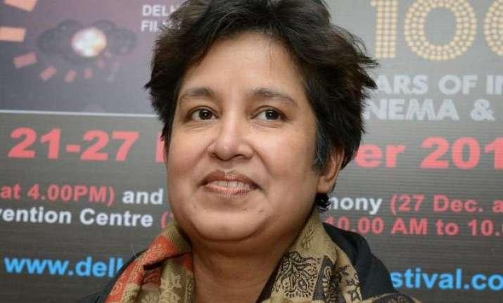 taslima nasreen reveals her hindu ancestor s name was